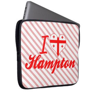Amo Hampton, Georgia Funda Portátil