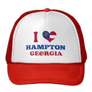 Amo Hampton, Georgia Gorros Bordados