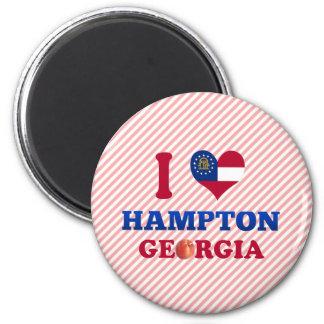 Amo Hampton, Georgia Imán De Frigorífico