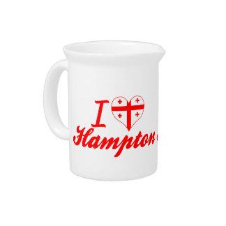 Amo Hampton, Georgia Jarra Para Bebida