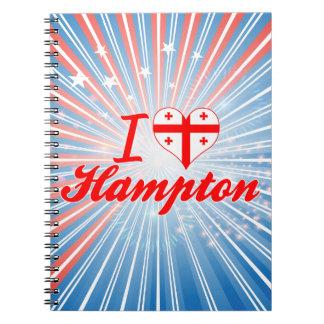 Amo Hampton, Georgia Cuaderno