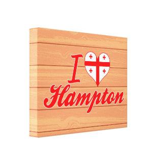 Amo Hampton, Georgia Impresiones De Lienzo