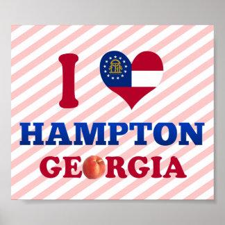 Amo Hampton, Georgia Impresiones