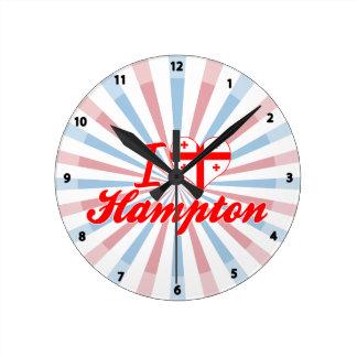 Amo Hampton, Georgia Reloj De Pared