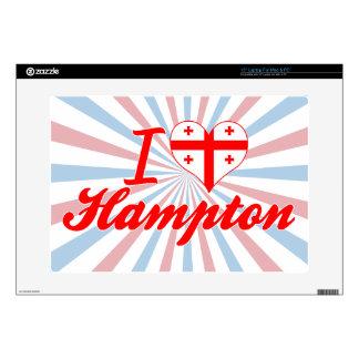Amo Hampton, Georgia Skins Para Portátil