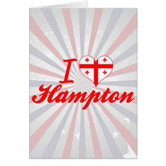 Amo Hampton, Georgia Felicitaciones