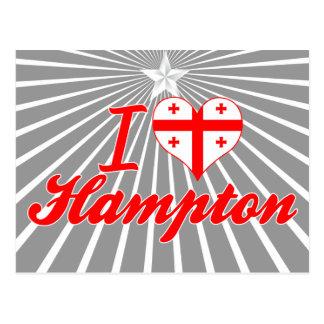Amo Hampton, Georgia Postales