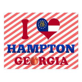 Amo Hampton, Georgia Postal