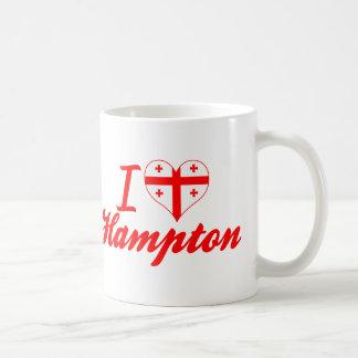 Amo Hampton, Georgia Taza De Café