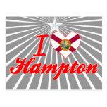 Amo Hampton, la Florida Postales