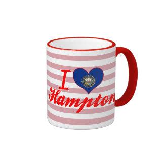 Amo Hampton, New Hampshire Tazas