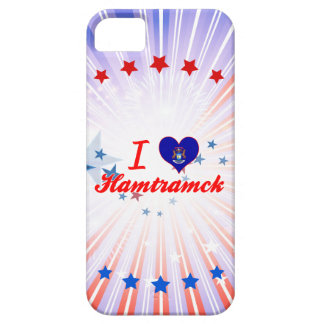 Amo Hamtramck, Michigan Funda Para iPhone 5 Barely There