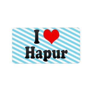 Amo Hapur, la India. Mera Pyar Hapur, la India Etiquetas De Dirección