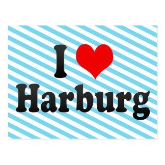 Amo Harburg, Alemania Tarjeta Postal