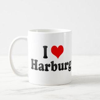 Amo Harburg, Alemania Taza Básica Blanca