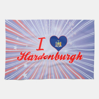 Amo Hardenburgh, Nueva York Toallas De Mano