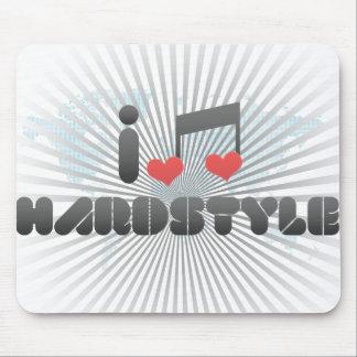 Amo Hardstyle Alfombrillas De Ratón