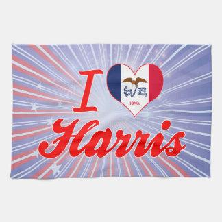 Amo Harris, Iowa Toallas