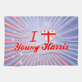 Amo Harris joven, Georgia Toalla De Mano