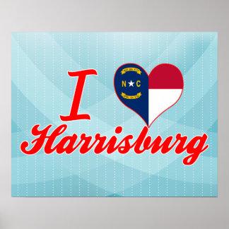 Amo Harrisburg, Carolina del Norte Impresiones
