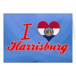 Amo Harrisburg, Missouri Felicitación