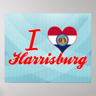 Amo Harrisburg, Missouri Impresiones