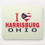 Amo Harrisburg, Ohio Alfombrillas De Ratón