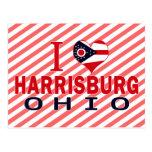 Amo Harrisburg, Ohio Tarjeta Postal