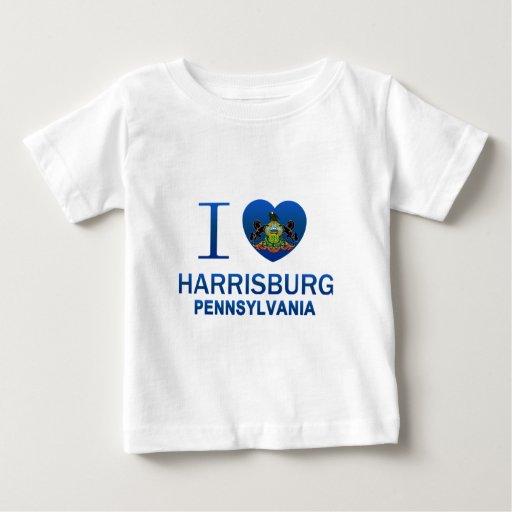Amo Harrisburg, PA Playeras