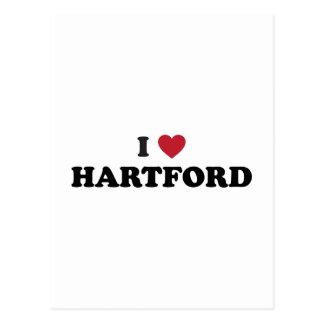 Amo Hartford Connecticut Postales