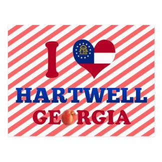 Amo Hartwell, Georgia Tarjetas Postales