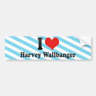 Amo Harvey Wallbanger Pegatina De Parachoque