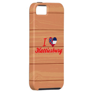 Amo Hattiesburg, Mississippi iPhone 5 Case-Mate Protectores