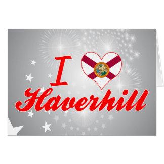 Amo Haverhill, la Florida Tarjetón