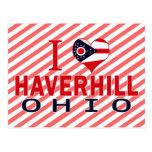 Amo Haverhill, Ohio Postales