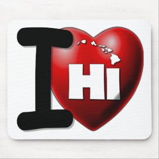 Amo Hawaii - corazón Hawaii de I Tapete De Raton