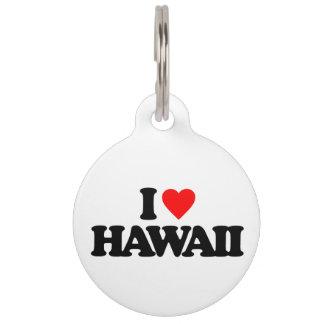 AMO HAWAII IDENTIFICADOR PARA MASCOTA