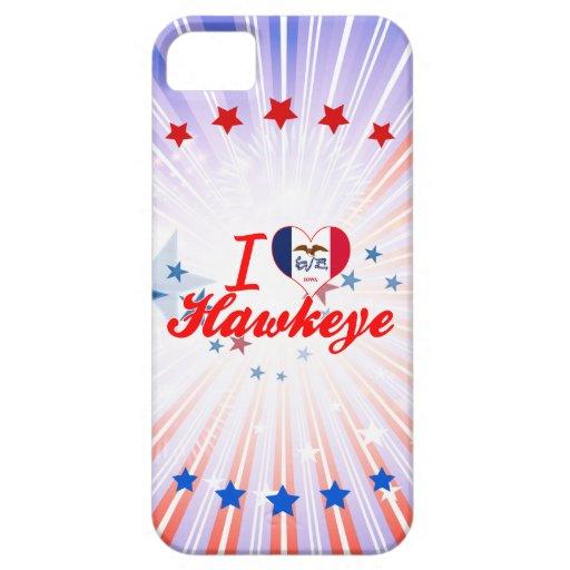Amo Hawkeye, Iowa iPhone 5 Carcasas