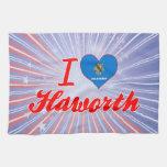 Amo Haworth, Oklahoma Toallas De Mano