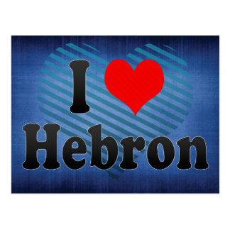 Amo Hebrón, territorio palestino Postales