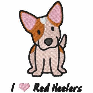 Amo Heelers rojo