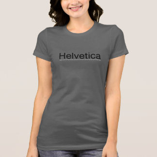 ¡Amo Helvética! Camiseta Poleras