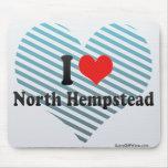 Amo Hempstead del norte Alfombrillas De Ratones