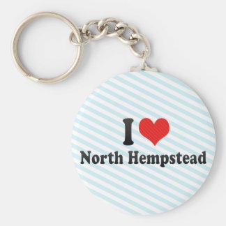 Amo Hempstead del norte Llavero Personalizado
