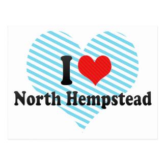 Amo Hempstead del norte Tarjeta Postal