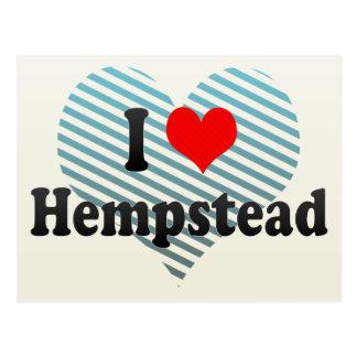 Amo Hempstead, Estados Unidos Tarjeta Postal