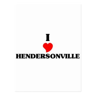 Amo Hendersonville Tarjetas Postales