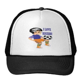 Amo hendidura gorras