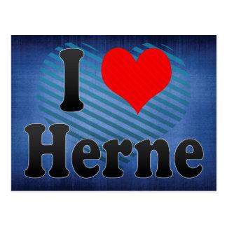 Amo Herne, Alemania. Ich Liebe Herne, Alemania Tarjetas Postales