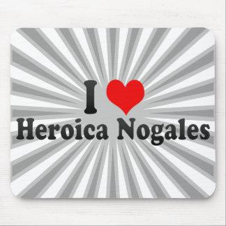 Amo Heroica Nogales México Tapete De Ratones